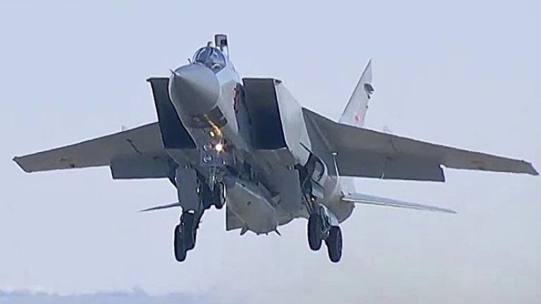 МиГ-31 на Русия гони патрулен самолет на Норвегия над Баренцово море