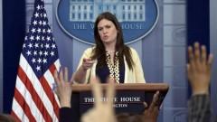 Сара Сандърс е гласът на Белия дом
