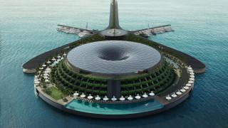 Плаващ еко хотел, който ще генерира собствена енергия, ще отвори врати през 2025-а в Катар