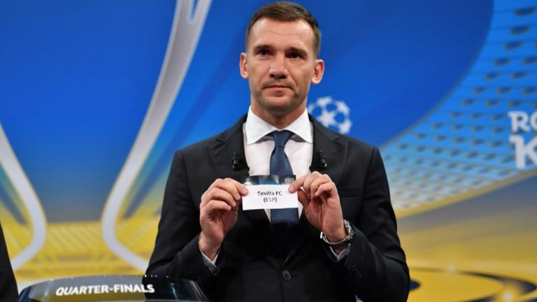 Днесбешеизтеглен жребиятза 1/4-финалната фаза в Шампионската лига. Отборите, които стигнаха