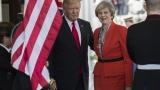 Във Великобритания зоват за отмяна на държавната визита на Тръмп