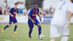 Юноша на Барселона подписа с Етър!