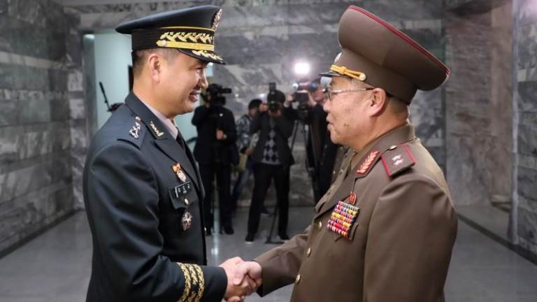 Северна и Южна Корея са се разбрали да демонтират 11