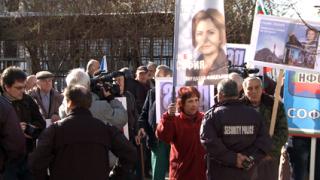 Протест поиска оставката на Фандъкова заради 10 нейни лъжи
