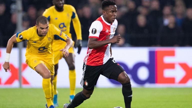 Фейенорд победи Порто с 2:0 в мач от група