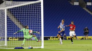 Манчестър Юнайтед надигра категорично Брайтън и се върна на петото място