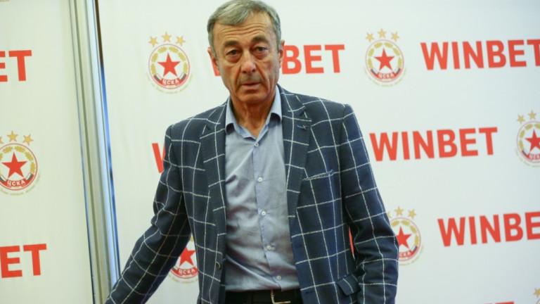 Изпълнителният директор на ЦСКА Пламен Марков коментира срещата, която кандидатът