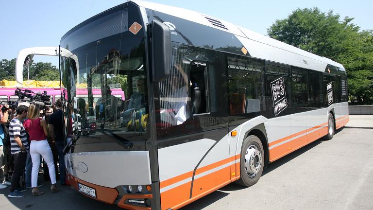 Тръгва временна автобусна линия от НИМ - Златните мостове