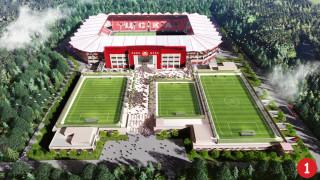 ЦСКА показа два проекта за изграждането на новия си стадион