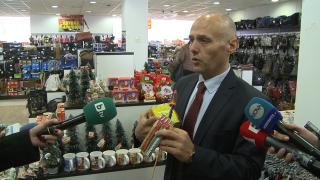 """Акция """"Коледата безопасна"""" излови десетки нарушения в китайския мол в София"""