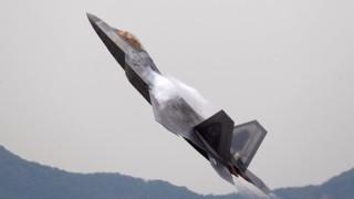 6 американски изтребителя F-22 пристигнаха за учения в Южна Корея