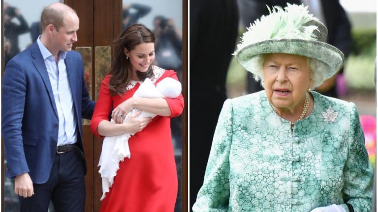 Кръщенето на принц Луис - без кралицата