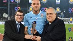 Президентът на Лацио е склонен титлата да се реши в един мач срещу Ювентус