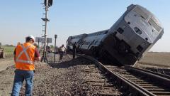 В Колорадо 20 вагона излязоха от релсите