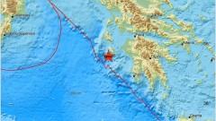 Три силни земетресения край о. Закинтос