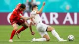 Швейцария - Испания 2:4 (Развой на срещата по минути)