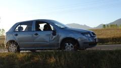 """Един ранен при катастрофа на АМ """"Марица"""""""