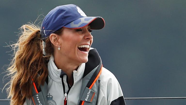 Кейт Мидълтън - дива и щастлива