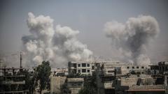 Сирийската армия атакувала бунтовници с варелни бомби