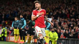 Манчестър Юнайтед - Виляреал: 1:1 (Развой на срещата по минути)