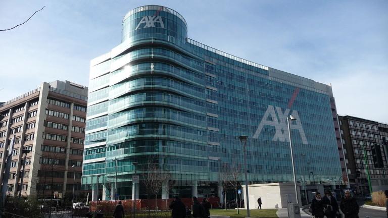 Френската застрахователна компания AXA ще увеличи 4 пъти инвестициите си