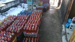 Полицията откри над 3 тона алкохол без бандерол