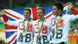Великобритания триумфира в отборния спринт на колоездене на писта