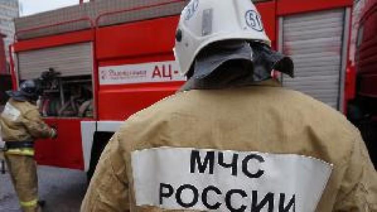 Снимка: Двама души загинаха в пожар в Солнечногорск