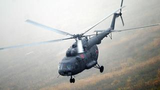 Хеликоптер с 18 души падна в Русия след удар с друг вертолет