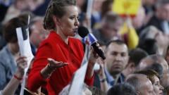 """Путин скастри Собчак за предизборния ѝ лозунг """"Против всички"""""""