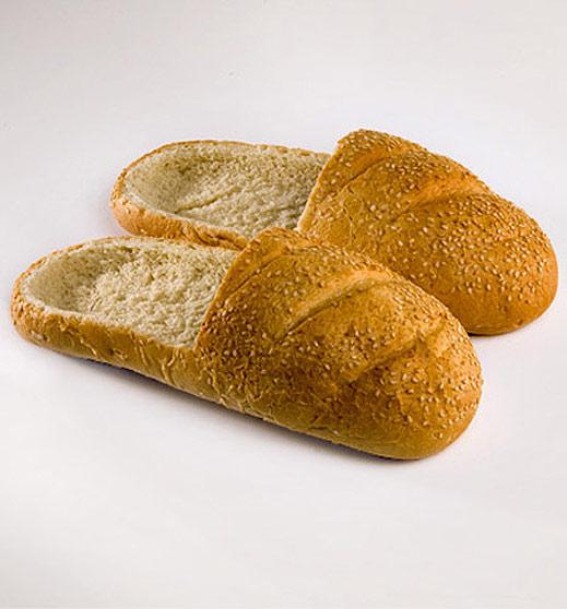 Пантофки от хляб