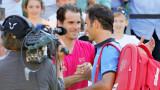 Томи Хаас изненада безкрайно неприятно Роджър Федерер в Щутгарт