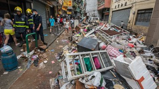 Силен тайфун удари Токио