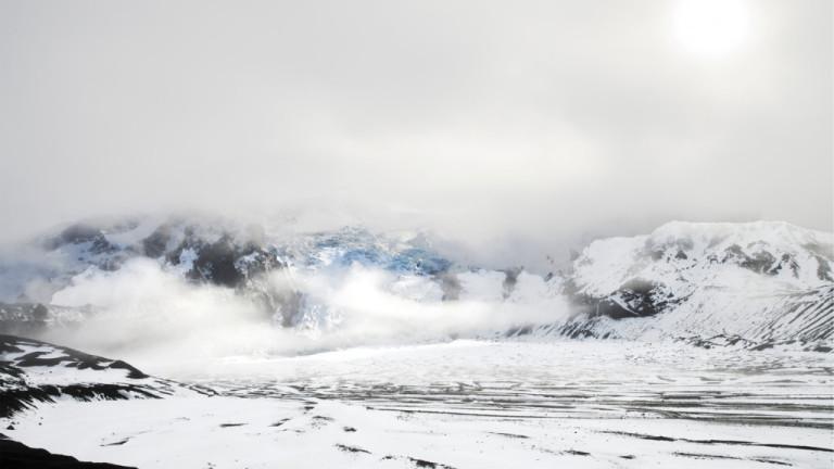 Исландски природозащитници поставиха възпоменателна плоча на мястото на ледник, обявен