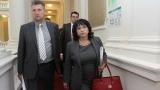 Министър Петкова оневинява Делян Добрев