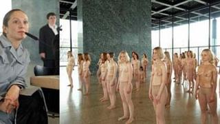 100 голи жени показват на ул. Фритьоф Нансен довечера