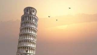 Защо е крива наклонената кула в Пиза