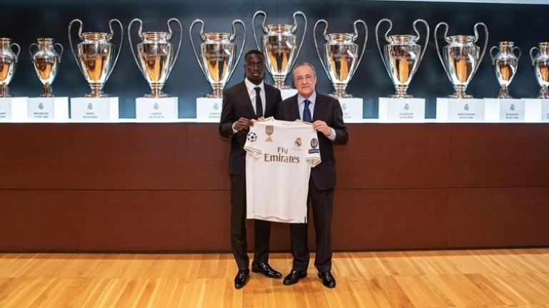 Днес Реал (Мадрид) представи поредното си ново попълнение. Това е