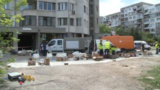 """Евакуират цял блок в столичния """"Люлин"""" заради химически вещества"""