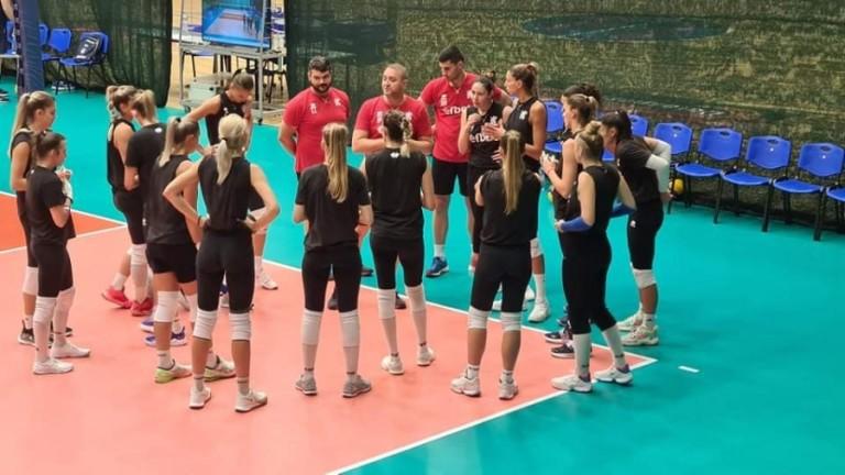 Женският национален отбор на България надигра Украйна с 3:1 (19:25,
