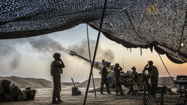 Представител на американската отбрана е представил актуализиран военен план на