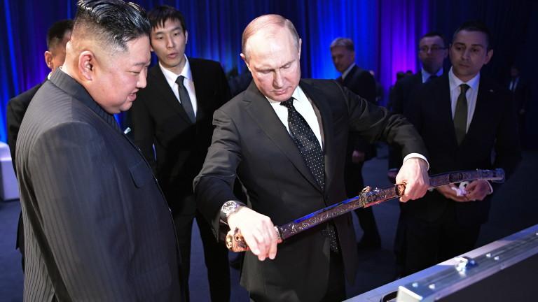 Преговорите между руския президент Владимир Путин и вожда на Северна
