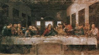 """Змиорка на грил хапвал Христос в """"Тайната вечеря"""" на Да Винчи"""