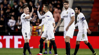 Валенсия взе крехък аванс срещу Краснодар