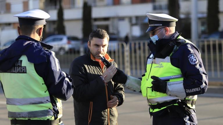 Пътна полиция хвана шофьор с 2,58 промила алкохол в кръвта