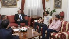 Григор Димитров разказа на президента за идеята си за тенис академия