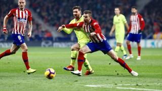 Късен гол на Дембеле спаси Барселона срещу Атлетико (Мадрид)