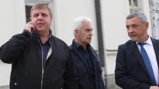 Каракачанов спокоен за коалицията - времето лекува всичко