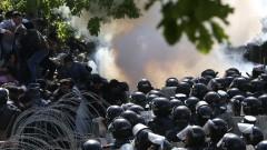 Десетки арестувани при антиправителствените протести в Армения