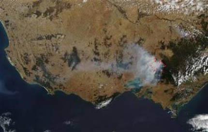 Пожарите в Австралия засегнаха и обсерватория